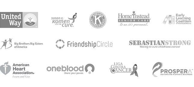 Group of Charity Logos